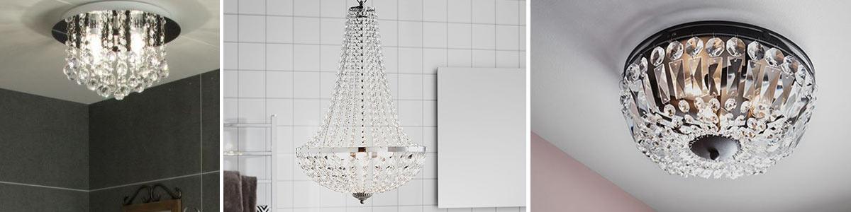 Badeværelseslamper Krystal