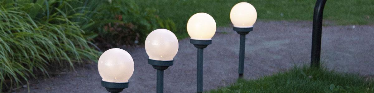 Solcellelamper