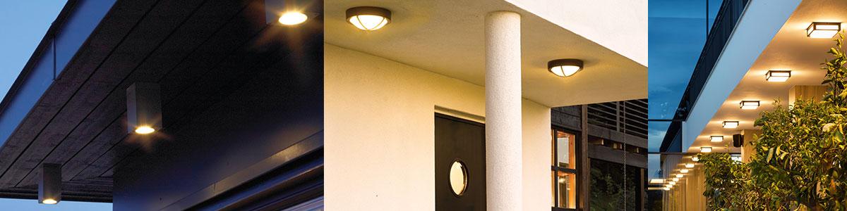 Udendørs loftlamper