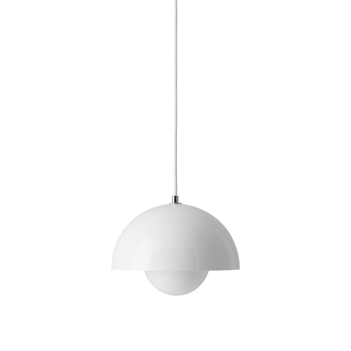 Picture of: Flowerpot Vp1 Hvid 23cm Loftlampe
