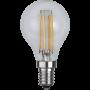 Klot E14 4,2W Filament Dimbar Led från Star Trading