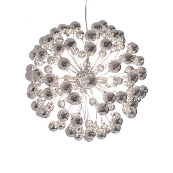 Carroll Chrom 58cm Loftlampe
