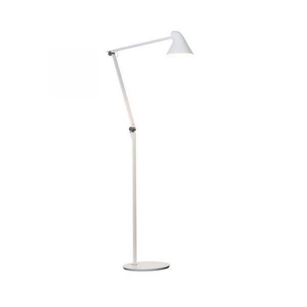 Njp Hvid LED Gulvlampe