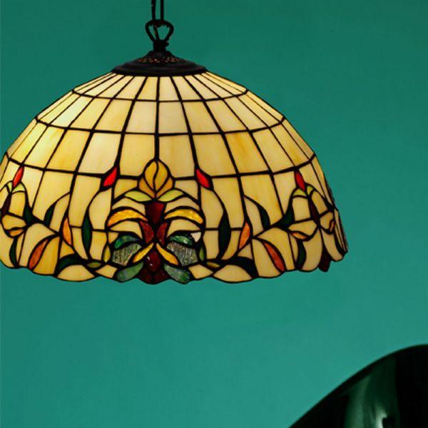 Lilja Tiffany 40cm Loftlampe
