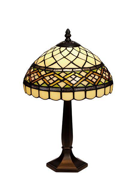 Retro Tiffany Bordlampe
