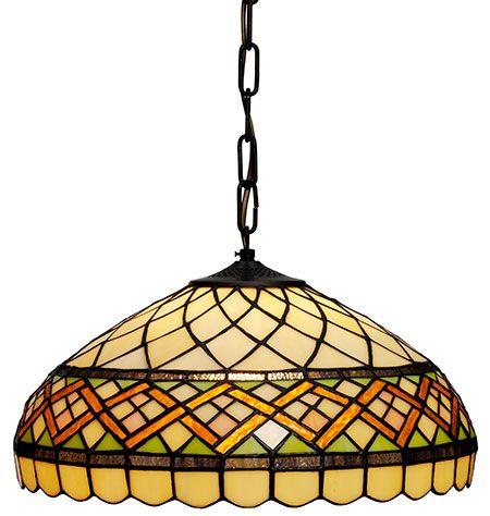 Retro Tiffany 40cm Loftlampe