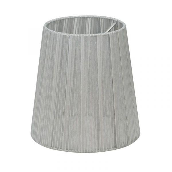 Skærm Organza 14,5 cm Sølv