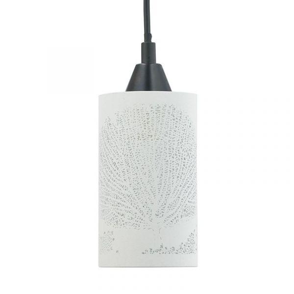 Tree Hvid/Sølv Vinduespendel