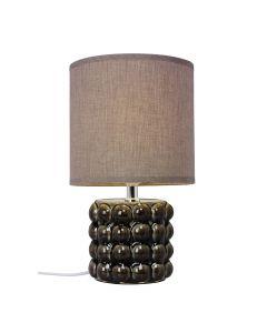 Kupol Grå 34cm Bordslampa från Cottex