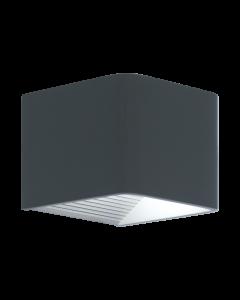 Doninni Antracit LED IP44 Vägglampa från Eglo