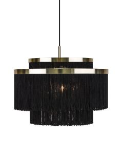 Frans Svart 52cm Taklampa från Globen Lighting