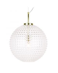 Spring Xl Klar/Mässing Taklampa från Globen Lighting