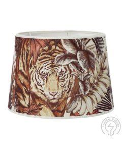 Bengal Tiger Lampskärm Multi 24cm från Hallbergs Lampskärmar