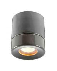 Light On Grå Ip44 Bastu från Ifö Electric