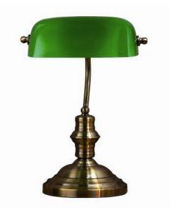 Bankers Grön 42Cm Bordlampa från Markslöjd