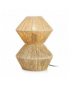 Straw Bordslampa 40cm Naturfärgad från Markslöjd