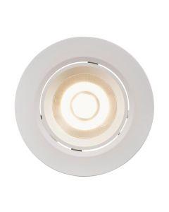 Roar Vit inbyggnadsspot integrerad LED från Nordlux