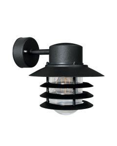 Vejers Vägglampa Ner Svart IP44 från Nordlux