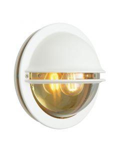 Berlin Vit/Klar Ip54 Vägglampa från Norlys