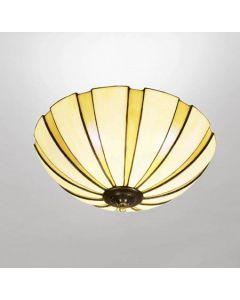 Coupe Amber Tiffany 45cm Plafond från Nostalgia