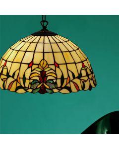 Lilja Tiffany 40Cm Taklampa från Nostalgia