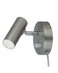 Mini Satin Led/Dimmer Sänglampa från Oriva