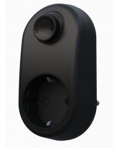 Plug in dimmer för LED Svart 230 volt från Pr Home