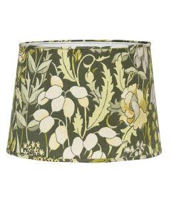 Sofia Skogsblom Grön 25Cm Lampskärm från Pr Home