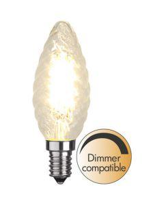 Kron Vriden E14 4,2W Filament Dimbar Led från Star Trading