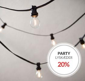 Party Lyskæde Kampanje