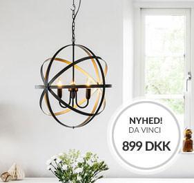 Loftlampe Da Vinci Cottex