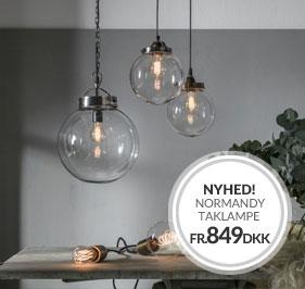 Normandy loftlampe NYHED fra PR Home