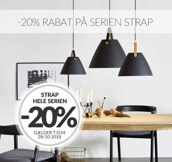 -20% rabat på Strap fra Nordlux