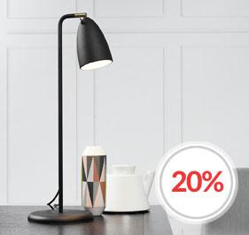 Nexus skrivebordslamper fra Danska Nordlux