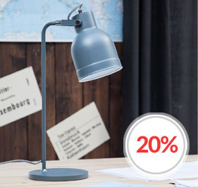 Bolt skrivebordslampe fra By Rydéns