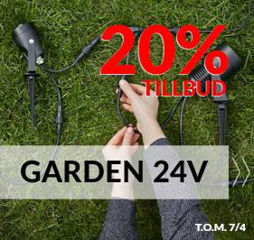 Udendorslamper Garden 24Volt system fra Markslojd